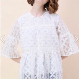 Chic Wish Lace Top